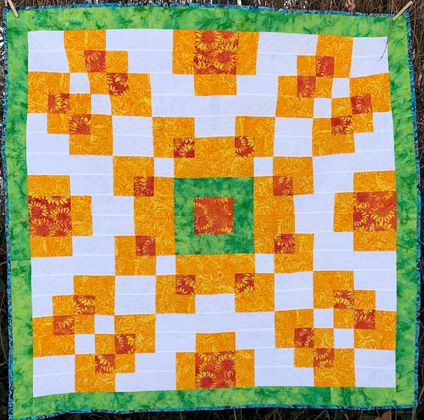 Counterbalance Quilt Pattern - Formally the Violet Burst Quilt