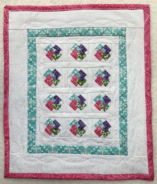Friday Finish - Card Trick Mini Quilt