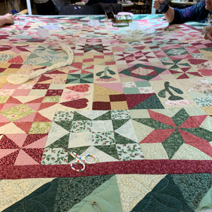 Quilting with the Quilt Days group