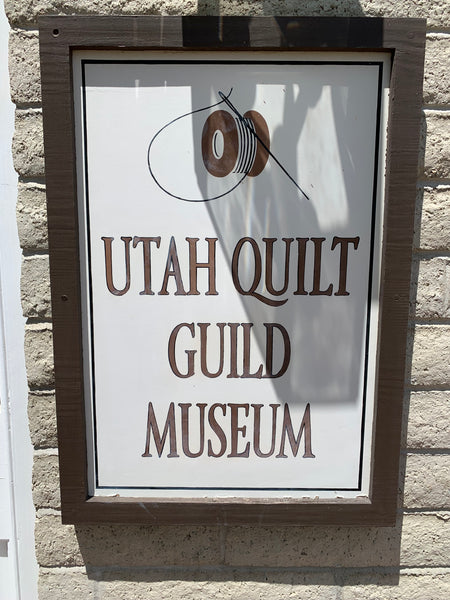 Visit to the Utah Quilt Guild Museum