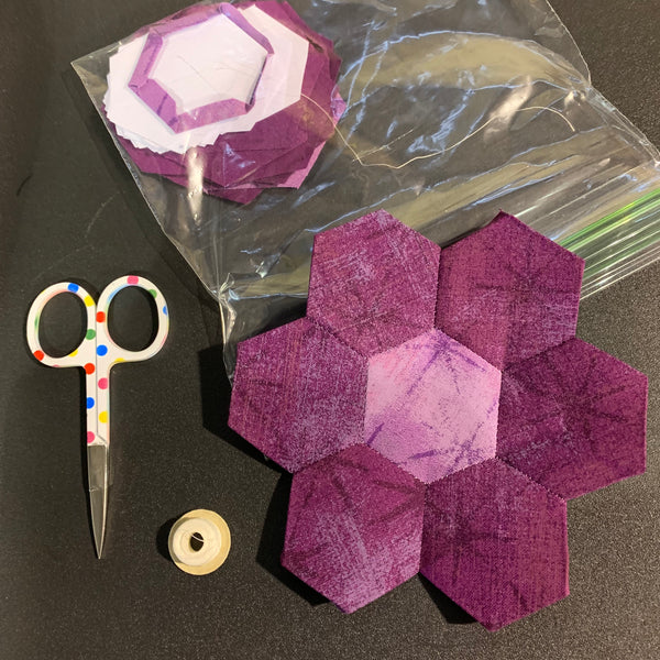 English Paper Piecing Hexagons - Technique Tuesday
