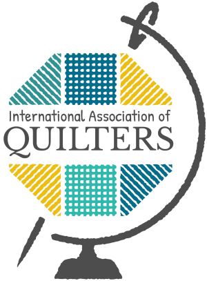 Guest Designer for the International Association of Quilters (IAQ) in July