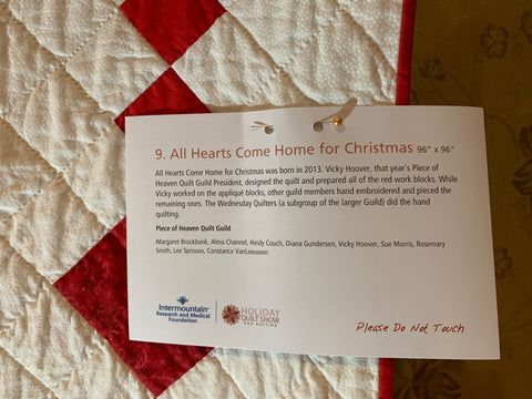 Holiday Quilt Show and Auction