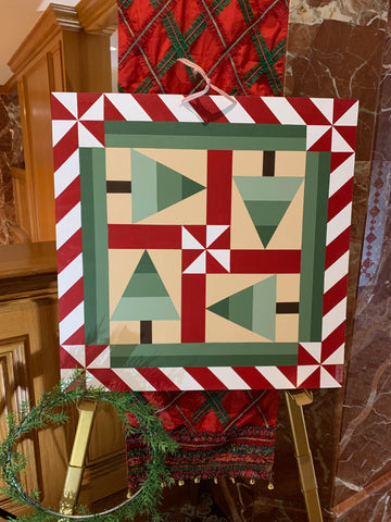 Holiday Quilt Show and Auction - Barn Quilt