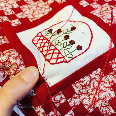 Quilt Kit from Red Button Quilt Company
