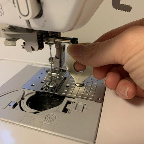 Cleaning my sewing machine
