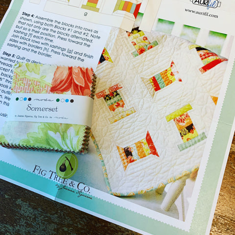 My Aurifil Spool Quilt Pattern