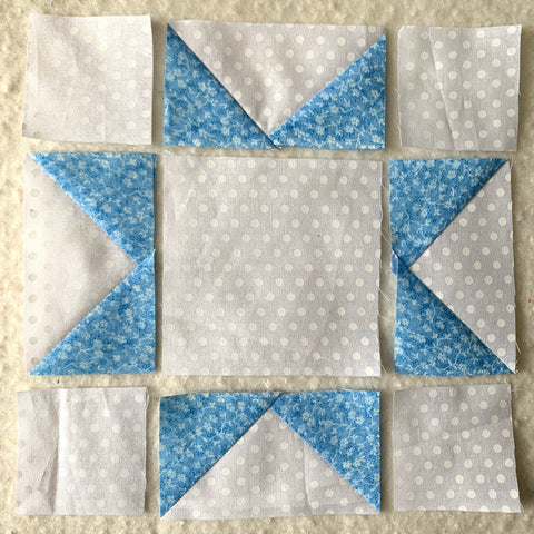 Small Star in the Rising Star Quilt Block