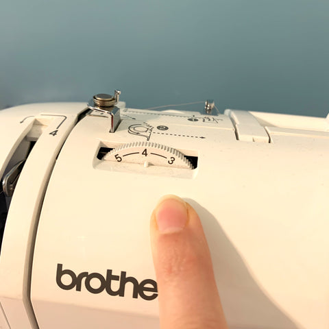 Thread Tension Dial on a Brother Innovis 80 sewing machine