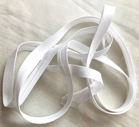 Pile of Bias tape. Tape makers make this so easy