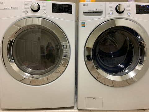 Washer and Dryer Front Loader