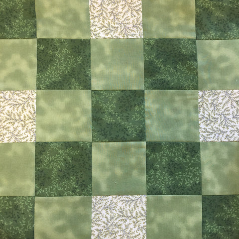 Block for Irish Chain Quilt on Bobbin In Quilts