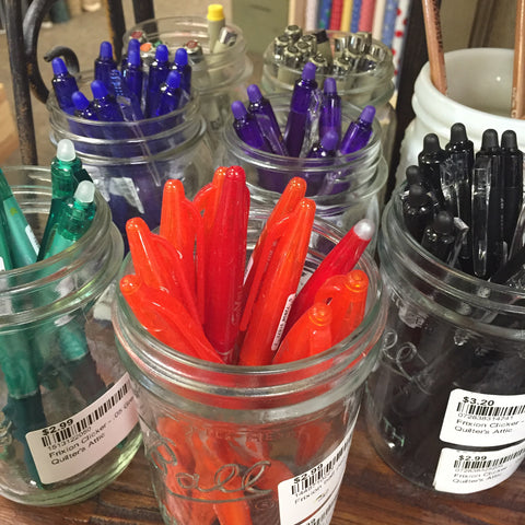Frixon Marking pen display at my local quilt store