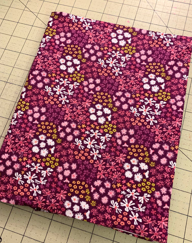 Notebook cover all finished