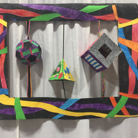 3D quilt by Ashley Bandy
