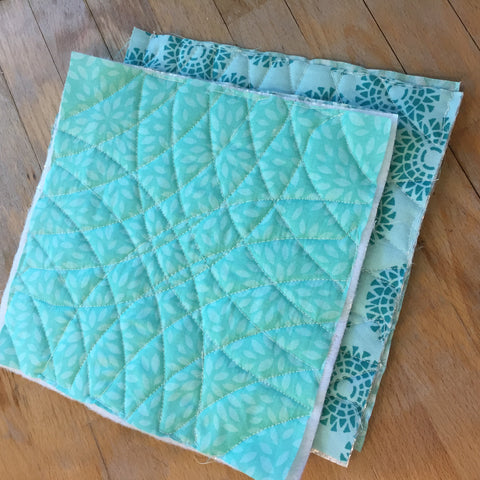 Hot Pot Holders Quilted