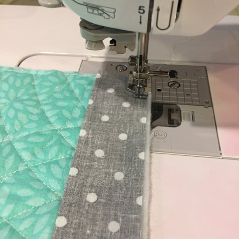 Adding Binding to the Hot Pot Holder