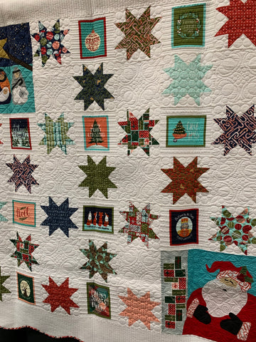 Lucys Christmas Quilt by Denise Smith
