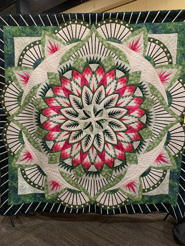 Dinner Plate Dahlia by Janet Wilson and Dixie Sargeant