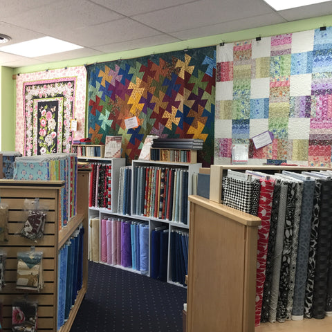 Fabric in the LeGrande Quilt Shop