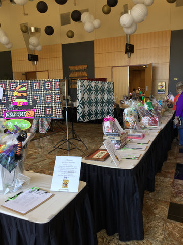 Auction items available at Utah Quilt Guild Quilt Fest