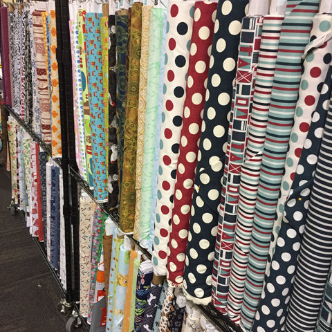 Fabric shops at Utah Quilt Guild Quilt Fest
