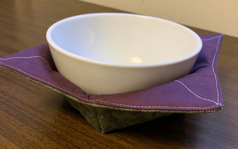 Purple Bowl Cozy