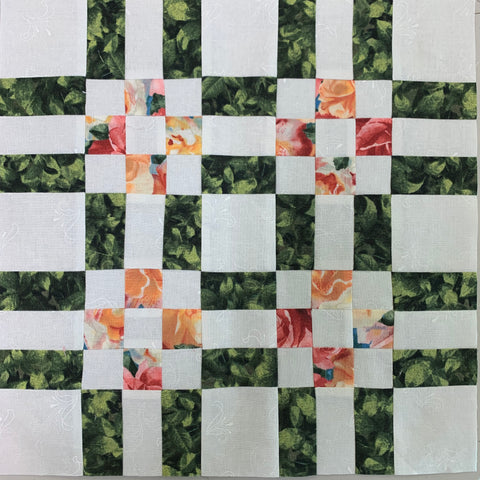 Squares and Stripes Block Version 3