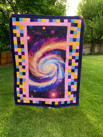 Front of the Galaxy Quilt