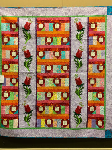 Alice Keasler's Birthday Quilt