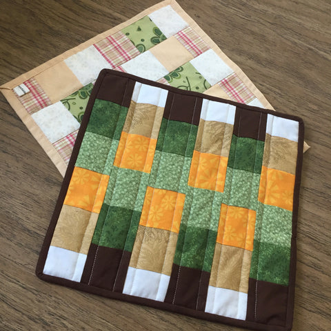 Both of the Fall Mini Quilts