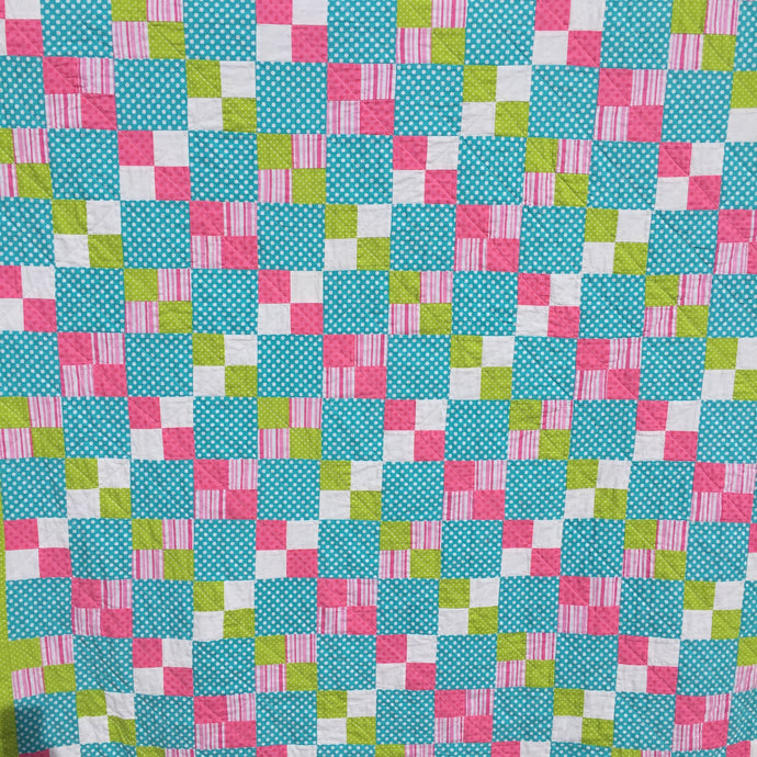 The Alana Quilt Pattern Digital Download - Easy and Simple Quilt Pattern for a Beginner