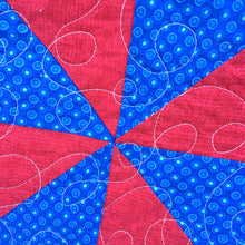 Bombs Bursting Quilt Pattern - A Great Patriotic Quilt for Beginners or Intermediate Quilters