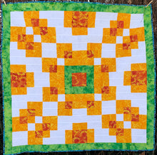 Counterbalance Quilt Pattern - An Easy Quilt for Beginners - Formally known as Violet Burst