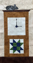 Hickory Dickory Dock Quilt Block Row Pattern