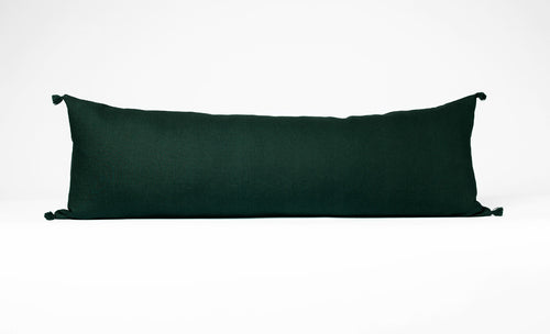 Lumbar Pillow: Evergreen