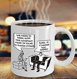 Psychologist Funny Coffee Mug - Gift For Friend,Boss,Secret Santa,Birthday,Husband,Wife,Boyfriend - We Need To Deal With This Constant Need Of Yours To Please Others Sure If It Makes You Happy