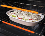 Oven Rack Protectors (3 Pack) - NEVER BURN YOURSELF AGAIN!