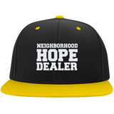 Neighborhood Hope Dealer Snapcback Hat - Black and Yellow