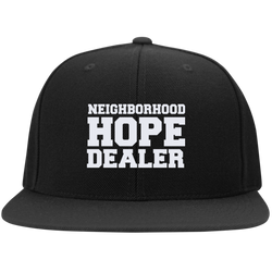 Neighborhood Hope Dealer Snapcback Hat - Black