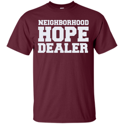 Hope Dealer Shirt - Maroon