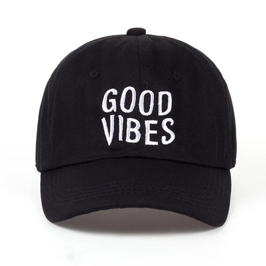 Good Vibes Baseball Cap – The Zen Lioness 900229cace52