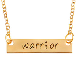 Warrior Plate Necklace
