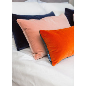 Blush Pink Velvet Cushion Luxe 39