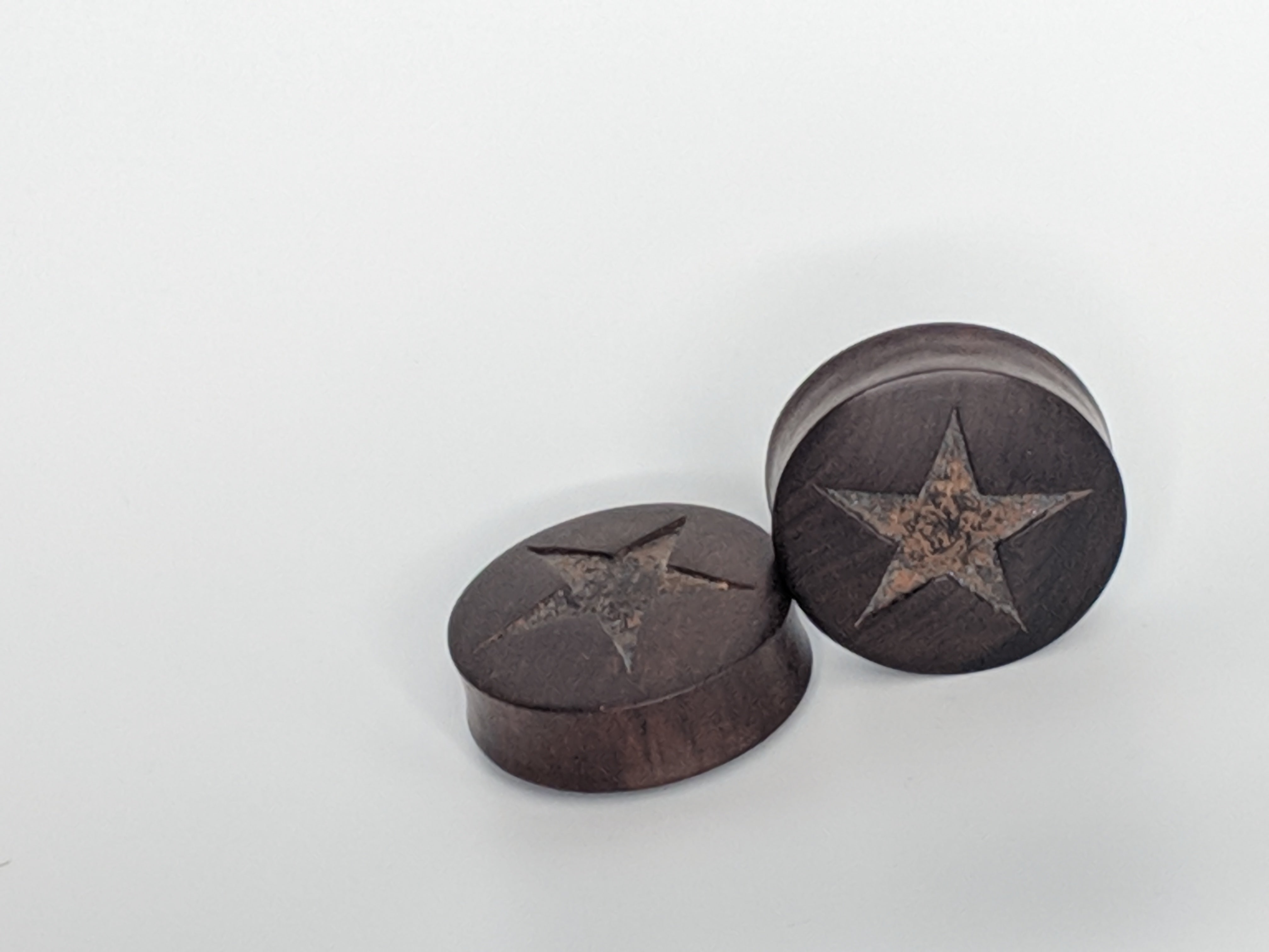 "1+1/2"" DF Wood w/ star inlay"