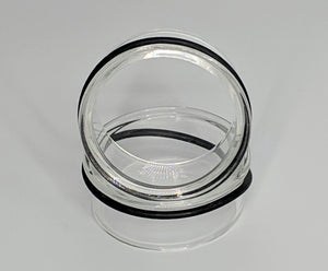 Clear Glass Eyelets