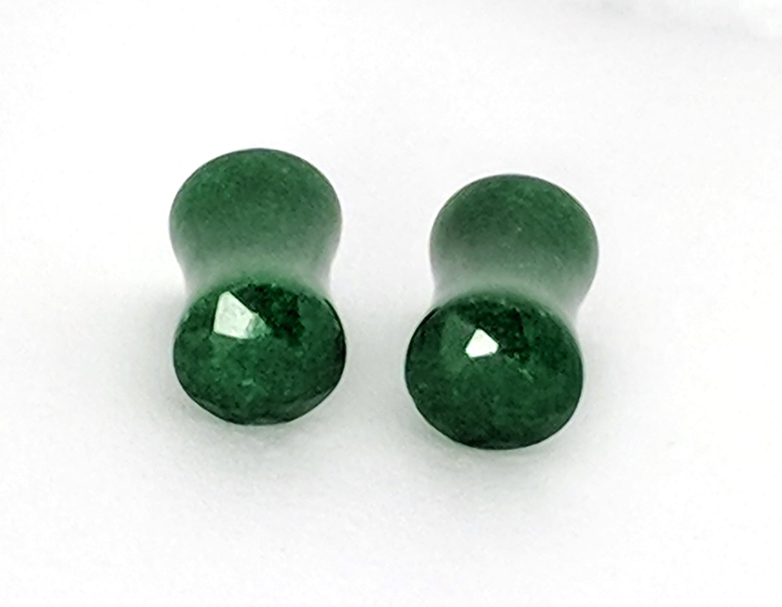 Green Jade Stone Plugs