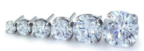 Neometal Prong Set Gems - 1.5mm, 2.0mm, 2.5mm