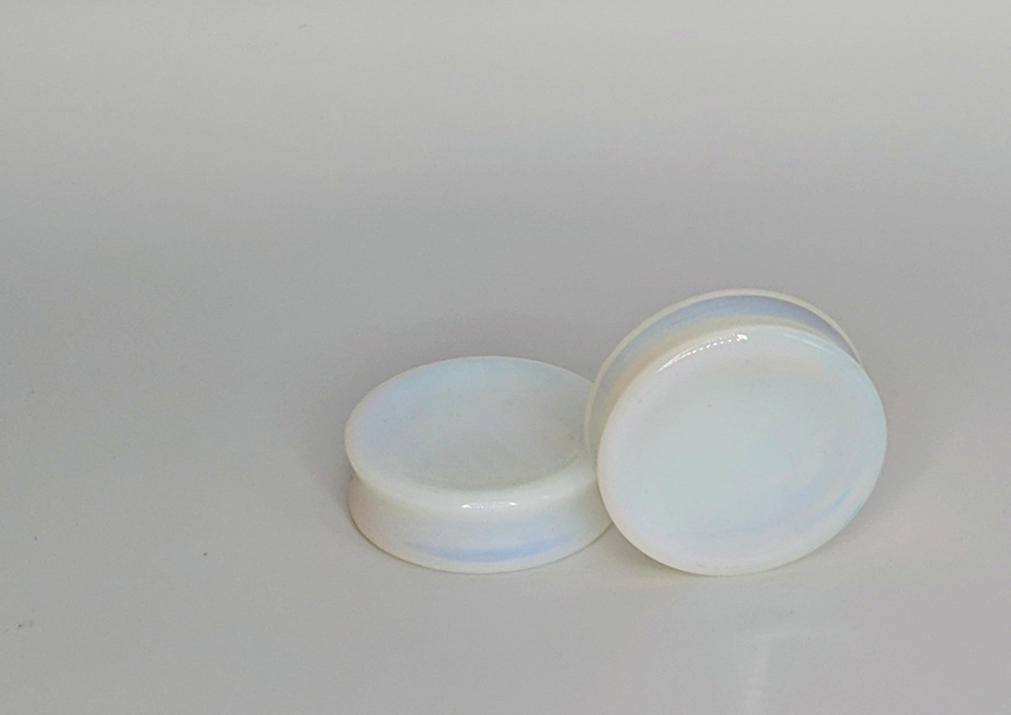 DF Concave Opalite Plugs