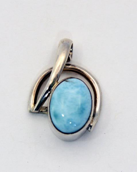 Sterling Silver Pendant - Available in 9 Stones